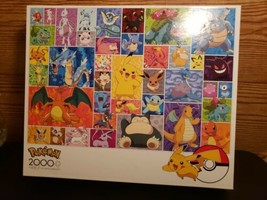 Pokemon Buffalo Games 2000 Piece Jigsaw Puzzle- Brand New- Different Characters - $29.69