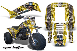Graphics Kit Decal Sticker Wrap For Yamaha DX2250 3 Wheeler DX 225 Shaft MAD S Y - $169.95