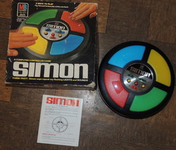 Vintage Simon game by Milton Bradley 1978 in original box~Works Perfectly!! - $75.00