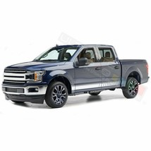 Side Doors Stripes Racing Sport Wrap Decal Sticker for Ford Supercrew ca... - $49.68