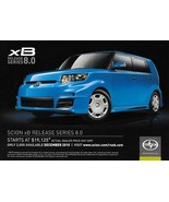 2011 SCION xB RELEASE SERIES RS 8.0 Edition sales brochure card sheet 11... - $8.00