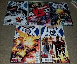 Marvel Comic AvengersX-men A VS X 1 2 4 5 6 NM Set Variant Sketch 2nd Pr... - $0.99
