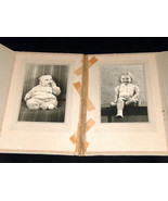 VTG Mid-Century Baby, Young Girl (2) 3X5 Black & White Photo Picture - $13.58