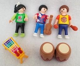 PLAYMOBIL 4329 School Band Children Drums Xylophone Maracas Guitar Girls... - $14.46
