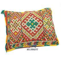 BeldiNest Sale! Boho Vintage Moroccan Decorative Pillow Arabesque Red/St... - $59.35