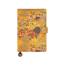 Journal Notebook -A5 College Ruled Chinese Silk Hardcover Lined Paper Bu... - $10.74