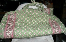Vera Bradley long garment bag in retired Green leaf pattern - $42.00
