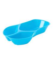 Dennis East International Flip Flop Chip Dip Bowl Serving Set Ceramic Sky Blue - $14.74