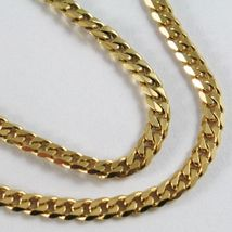 MASSIVE 18K GOLD GOURMETTE CUBAN CURB CHAIN 2.8 MM, 24.6 INCHES, NECKLACE image 6