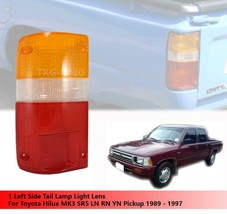 1 LH REAR TAIL LIGHT LENS LENSES FOR TOYOTA HILUX MK3 1989-1997 STANDARD... - $12.97