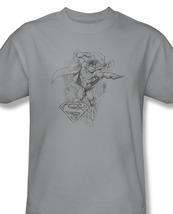 Ro superman pencil illustration wonder woman batman for sale online gray graphic tshirt thumb200