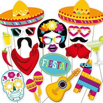 Fiesta Photo Booth Props. Perfect for Mexican Photo Booth Props Stand.32... - $18.93