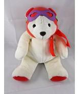 "Hallmark Love is in the Air Pilot White Polar Bear Plush 14"" Valentines Day - $6.45"