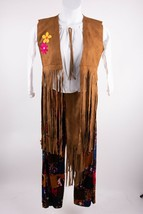 Underwraps Womens Peace Out Hippie Halloween Costume M 70s Bell bottoms ... - £30.61 GBP