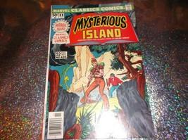 1976 MARVEL CLASSICS COMICS # 11: Jules Verne's MYSTERIOUS ISLAND * GEM/... - $9.00