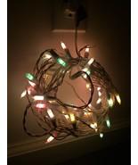 VTG Vintage Pastel Easter Tree String Lights - TESTED and WORKS! - $25.49