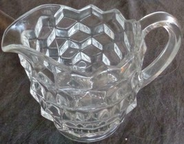 Beautiful Fostoria American Pattern Footed Cream Pitcher - VGC - COLLECT... - $24.74