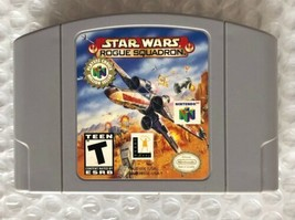 ☆ Star Wars Rogue Squadron (Nintendo 64 1998) AUTHENTIC N64 Game Cart Wo... - $11.72