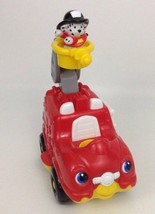 Little People Li'l Movers Sounds Firetruck w Puppy Batteries Fisher Pric... - $18.66