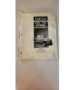 Vintage 1995 1997 CLUB CAR Carryall OPTIONAL EQUIPMENT Manual Great Price - $35.44