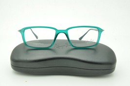 Ray Ban RB 7019 LightRay Eyeglasses 5243 Shiny Green Frame 50mm + Case - $57.93