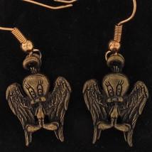 EARRINGS Tweety Bird WARNER BROS LOONEY TUNES GUARDIAN Cancer ANGEL STOR... - $10.88