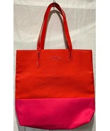 Lancome Paris Tote Bag Bright Pink and Red Flamingo Red Lips Lolipops 14... - $8.59