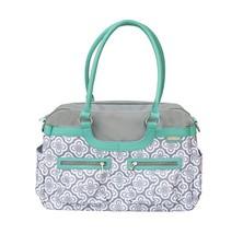 JJ Cole Satchel Diaper Bag, Azure Infinity - $73.54