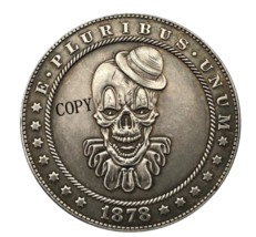 Hobo Nickel 1878-CC USA Morgan Dollar Clown COIN For Gift - $5.99