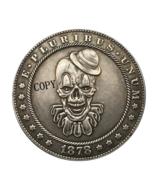 Hobo Nickel 1878-CC USA Morgan Dollar Clown COIN For Gift - $5.99