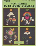 Four Mobiles in Plastic Canvas (Leisure Arts Leaflet 419) [Pamphlet] Dic... - $4.94