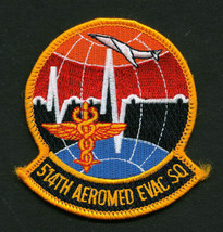 Usaf Patch - 514th Aeromed Evacuation Squadron Full Color - $4.00