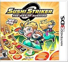 Sushi Striker: The Way of The Sushido - Nintendo 3DS NEW - $42.47
