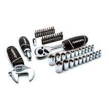 Husky H46PCSTS Stubby Wrench and Socket Set (46-Piece) - $25.00