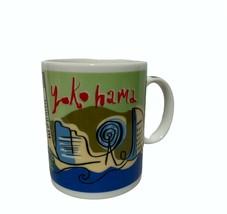 2006 Starbucks Ceramic Mug Yokohama Japan Landmarks Mug Made in Japan - $44.52