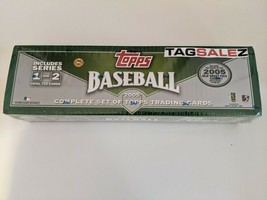 ⚾ 2005 Topps Complete Set Series 1 & 2 Factory Sealed 733 Baseball Cards... - $69.99