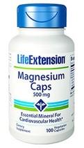 MULTIPACK Life Extension Magnesium Caps 500 mg muscle cramp bone health ... - $28.99