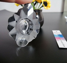 8Pcs Glass Crystals Lamp Chandelier Prisms 63MM Parts Hanging Cloud Pendants - $11.61