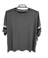 Champion athletic wear women's top relaxed gray short sleeve size XL - $18.36
