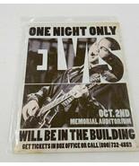 "16"" Elvis Presley music rock and roll star king art USA metal hangup AD ... - $44.55"