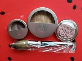 Laura Geller Baked Foundation & Blush & Eye Shadow Set With Brush - $49.99