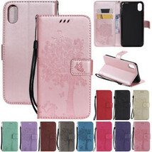 For iPhone 12 Pro Max XR 5 6s 7 8+ Magnetic Flip Leather Wallet Stand Ca... - $61.81