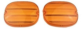 A-Team Performance 1991-1996 Chevy Corvette GM C4 Rear Tail Light Lens Amber 91