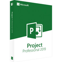 Microsoft Project Professional 2019 Official Download - $20.49