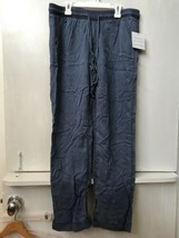 NWT Calvin Klein Jeans Women's Soft 100% Lyocell Pull-On Pants Blue size S - $24.95