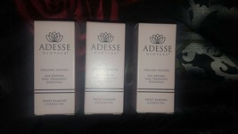 Lot of 3x Adesse NY Organic Infused Sweet Almond Cuticle Oil NIB Full Size - $23.00