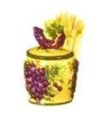 TUSCANY GRAPE Toothpick Holder *NEW*! - $14.57