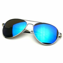 Sonnenbrille Spiegel Herren Damen Retro Klassisch Metallrahmen - $11.23
