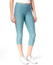 Soybu, Women's, Camii Space-Dyed Cropped Leggings, Gemstone, Sz. Small - $29.70