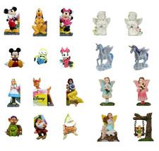 Lawn Decor Garden Statues, Pothanger Figurines - Disney, Fairy, Unicorn,... - $4.49+